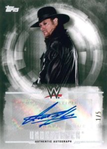 2017 Topps WWE Undisputed