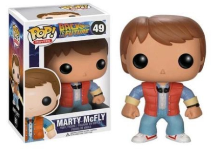 Funko Pop Back to the Future Vinyl Figures 3