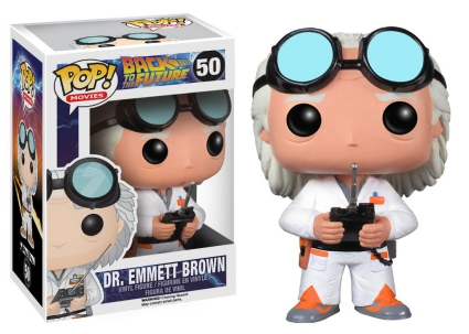 Funko Pop Back to the Future Vinyl Figures 4