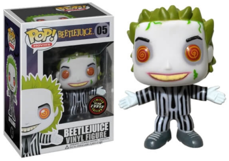 Funko Pop Beetlejuice Vinyl Figures 3