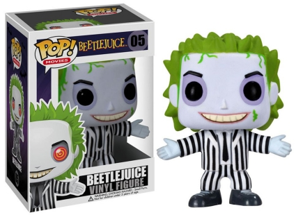 Funko Pop Beetlejuice Vinyl Figures 1