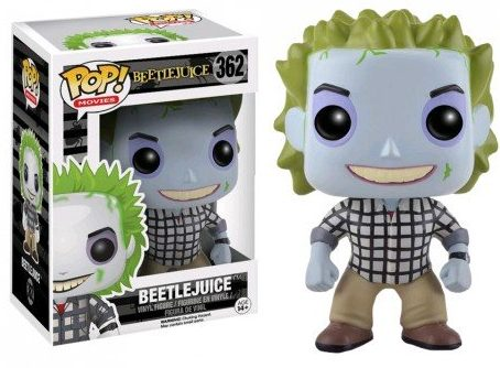 Funko Pop Beetlejuice Vinyl Figures 4