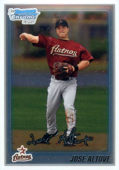 Jose Altuve Rookie Card Guide 5