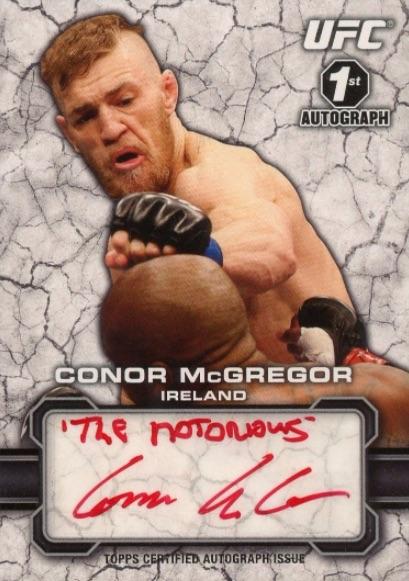 Top 10 Conor McGregor Cards 4
