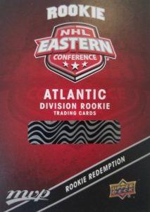 2017-18 Upper Deck MVP Hockey Cards - Rookie Redemption List Added 23
