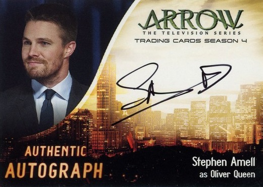 2017 Cryptozoic Arrow Season 4 Trading Cards 27