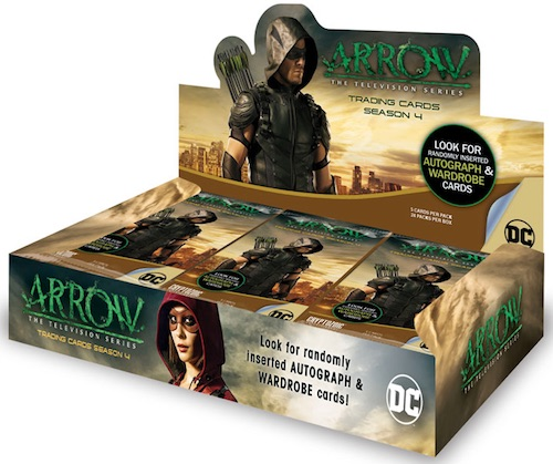 2017 Cryptozoic Arrow Season 4 Trading Cards 4
