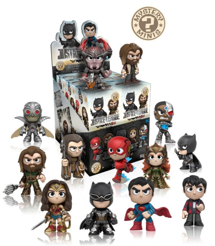 Funko Justice League Mystery Minis Checklist Info Odds List Rarity