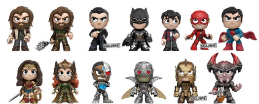 2017 Funko Justice League Mystery Minis 2