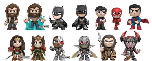 2017 Funko Justice League Mystery Minis 3