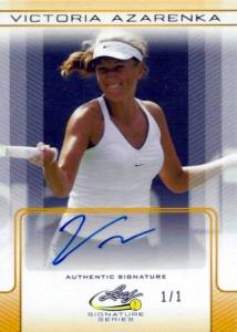 2017 Leaf Signature Series Tennis Cards 25