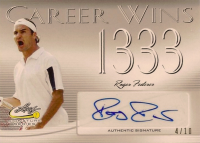 2017 Leaf Signature Series Tennis Cards 22