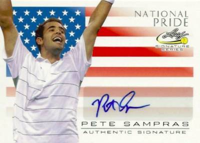 2017 Leaf Signature Series Tennis Cards 24