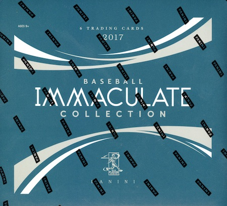 2017 Panini Immaculate Collection Baseball