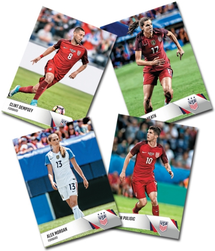 2017 Panini Instant US Soccer National Team Collection Cards 1