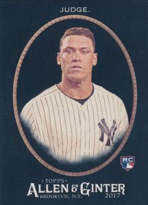 Aaron Judge Rookie Cards Checklist and Key Prospects 24