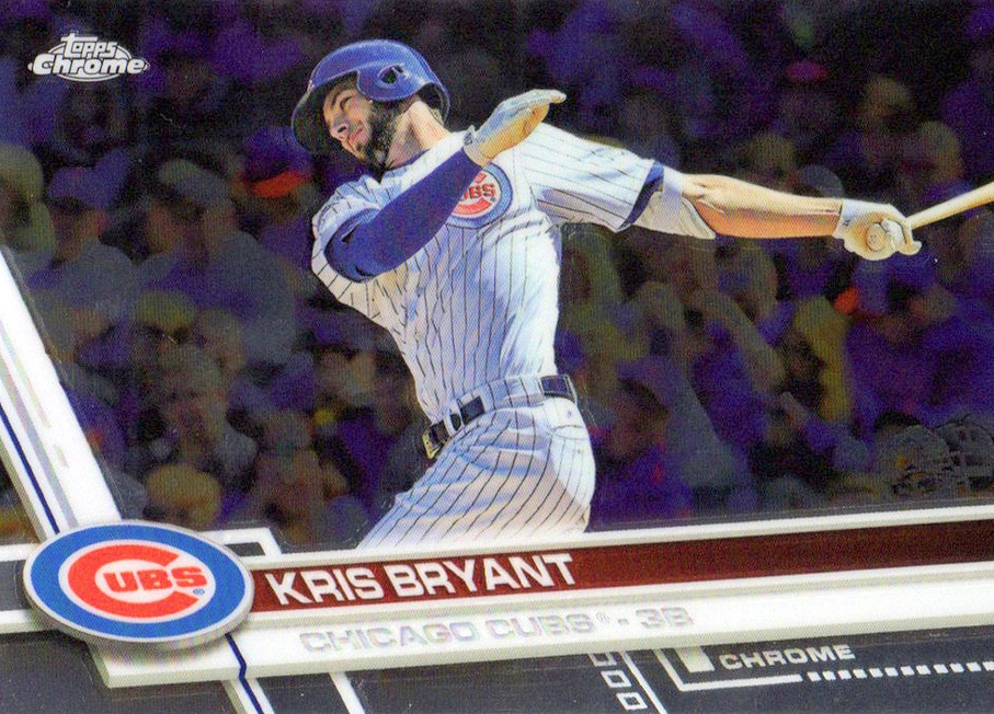 2017 Topps Chrome Baseball Variations Checklist and Gallery 2
