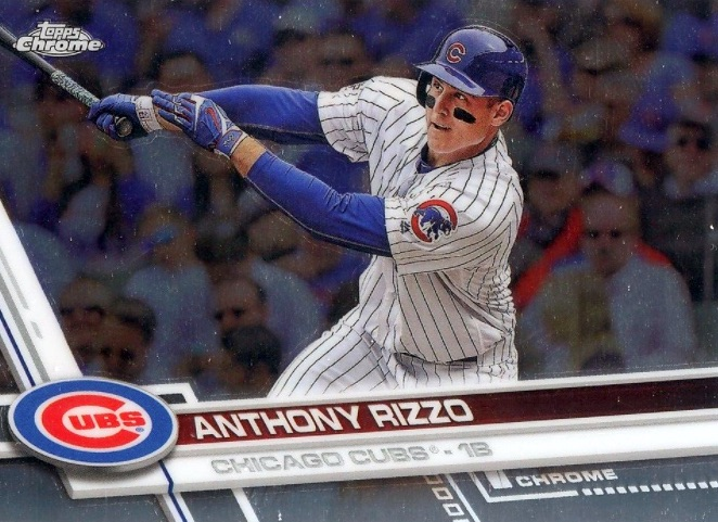 2017 Topps Chrome Baseball Variations Checklist and Gallery 44