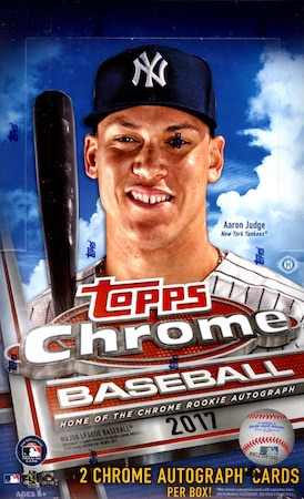 2017 Topps Chrome Baseball Cards 32