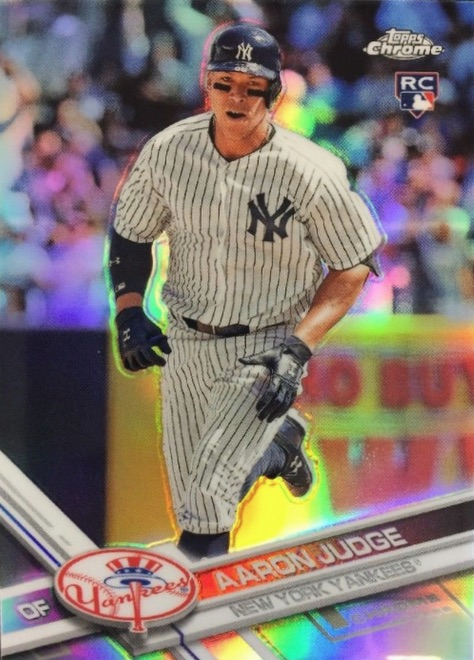 Aaron Judge Rookie Card Checklist Top Prospect Cards Best Autographs