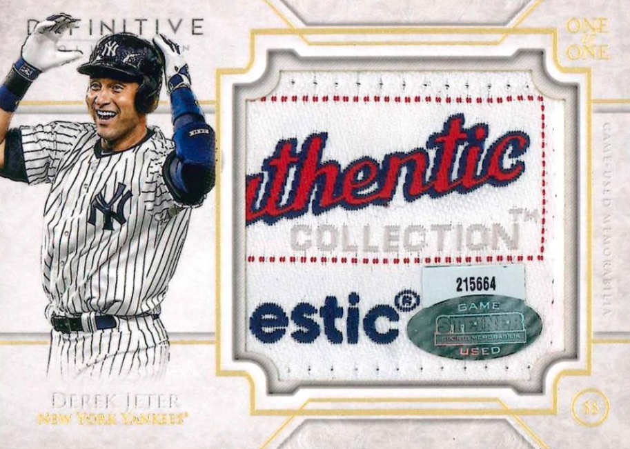 2017 Topps Definitive Collection Baseball Cards 34