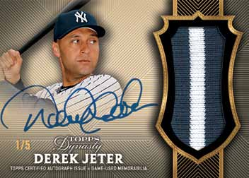 2017 Topps Dynasty Baseball Cards