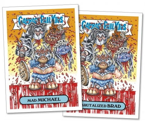 2017 Topps Garbage Pail Kids Best of the Fest Trading Cards 12