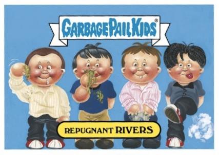 2017 Topps Garbage Pail Kids Best of Fest