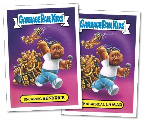 2017 Topps Garbage Pail Kids Empty-V Awards Trading Cards 21