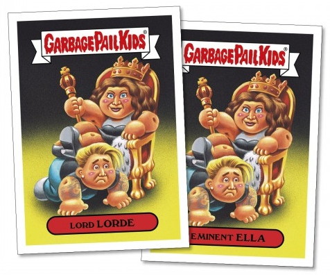 2017 Topps Garbage Pail Kids Empty-V Awards Trading Cards 22