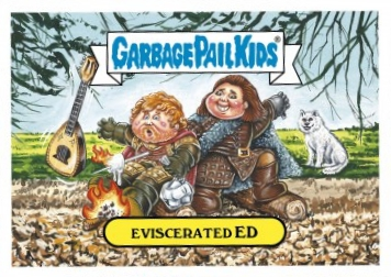 2017 Topps Garbage Pail Kids Empty-V Awards Trading Cards 2