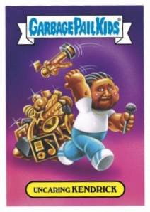 2017 Topps Garbage Pail Kids Empty-V Awards Trading Cards 1