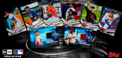 2017 Topps New Era Baseball Cards 1