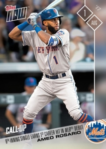 2017 Topps Now Baseball Cards 54