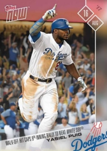 2017 Topps Now Baseball Cards 59