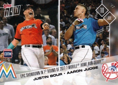 2017 Topps Now Baseball Loyalty Program Cards - Card of the Month Gallery 26