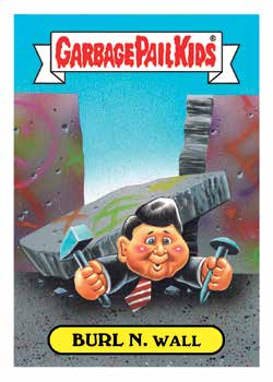 2018 Topps Garbage Pail Kids Series 1 We Hate the '80s Trading Cards 1