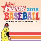 2018 Topps Heritage Baseball 1-400