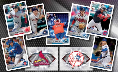 2018 Topps MLB Sticker Collection Baseball