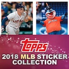 2018 Topps MLB Sticker Collection Baseball Cards