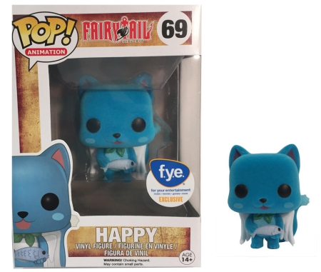 Ultimate Funko Pop Fairy Tail Figures Checklist and Gallery 7