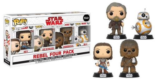 Funko Pop Star Wars Last Jedi Vinyl Figures 73
