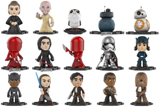 2017 Funko Star Wars Last Jedi Mystery Minis 4