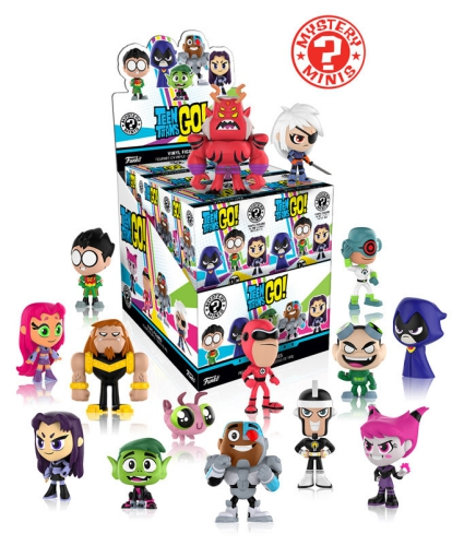 2017 Funko Teen Titans Go Mystery Minis 1