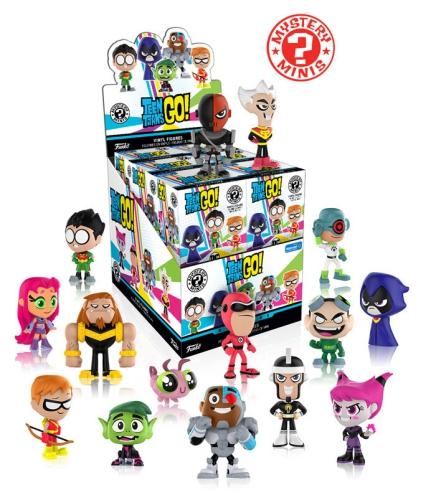 2017 Funko Teen Titans Go Mystery Minis 3