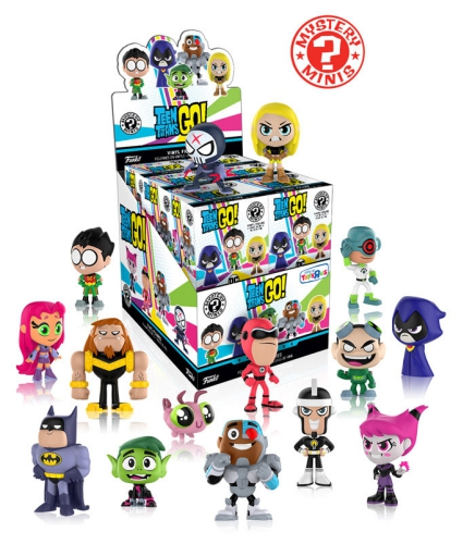 2017 Funko Teen Titans Go Mystery Minis 2