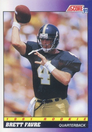 Ultimate Brett Favre Rookie Cards Checklist and Key Early Cards 6