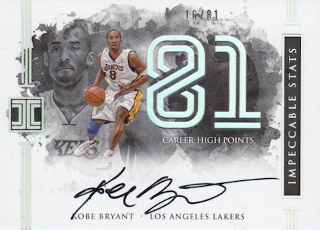 2016-17 Panini Impeccable Basketball Cards 3