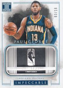 2016-17 Panini Impeccable Basketball Cards 27