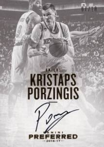 2016-17 Panini Preferred Basketball